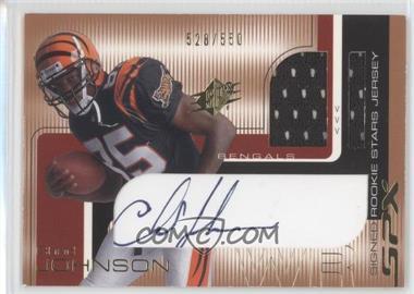2001 SPx - [Base] #100 - Chad Johnson /550