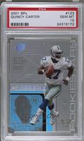 Quincy Carter /999 [PSA 10 GEM MT]