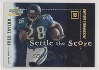 Fred Taylor, Jerome Bettis #/550