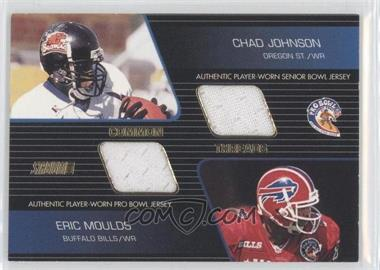 2001 Stadium Club - Common Threads #CT-MJ - Chad Johnson, Eric Moulds