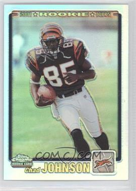 2001 Topps Chrome - [Base] #259 - Rookie Refractor - Chad Johnson /999