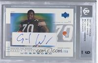 Gerard Warren [BGS 9 MINT] #/750