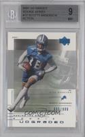 Scotty Anderson [BGS 9 MINT] #/900
