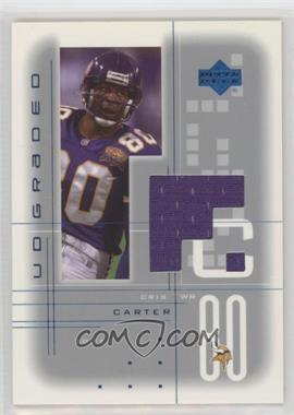 2001 UD Graded - Game Jerseys #CC - Cris Carter