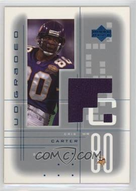 2001 UD Graded - Game Jerseys #CC - Cris Carter