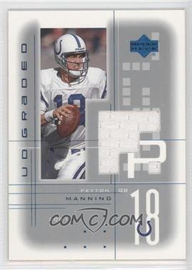 2001 UD Graded - Game Jerseys #PM - Peyton Manning