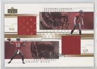 Keyshawn Johnson, Shaun King