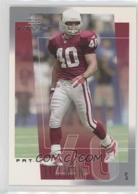 2001 Upper Deck MVP - [Base] #7 - Pat Tillman