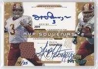 Jeff George, Stephen Davis /25