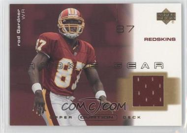 2001 Upper Deck Ovation - Rookie Gear #R-RG - Rod Gardner