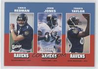 Chris Redman, John Jones, Travis Taylor #/1,500