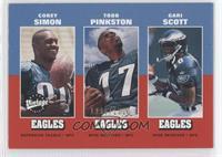 Corey Simon, Todd Pinkston, Gari Scott #/1,500