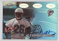 Leonard Henry /199