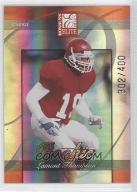 2002 Donruss Elite - [Base] #184 - Lamont Thompson /400