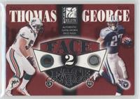 Zach Thomas, Eddie George /350