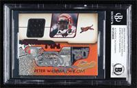 Peter Warrick [BAS Certified BGS Encased]