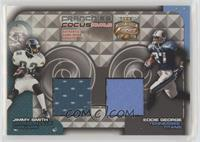 Jimmy Smith, Eddie George [Noted] #/100