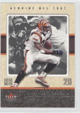 2002 Fleer Genuine - [Base] - Descending #46 - Corey Dillon /80
