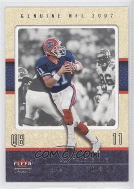 2002 Fleer Genuine - [Base] - Descending #88 - Drew Bledsoe /38