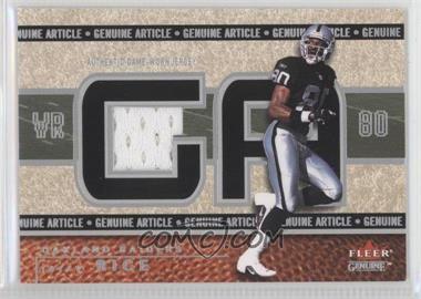 2002 Fleer Genuine - Genuine Article #GA-JR - Jerry Rice