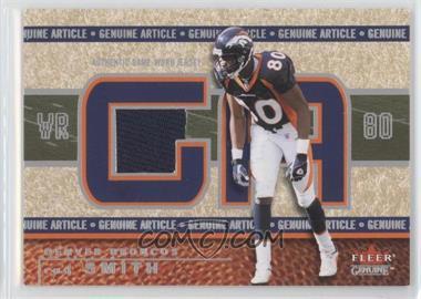 2002 Fleer Genuine - Genuine Article #GA-RS - Rod Smith
