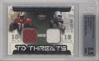 Terrell Owens, Tim Brown [BGS 8.5]