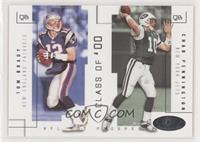 Tom Brady, Chad Pennington #/750
