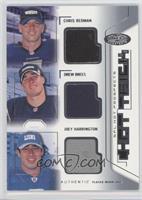 Chris Redman, Drew Brees, Joey Harrington #/150