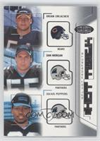 Brian Urlacher, Dan Morgan, Julius Peppers