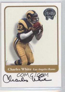 2002 Fleer Throwbacks - Greats of the Game Autographs #CHWH - Chris White