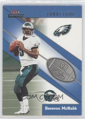 2002 Fleer Throwbacks - QB Collection #1 QB - Donovan McNabb /1500