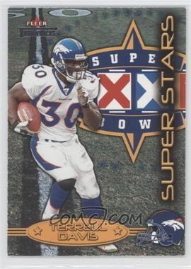 2002 Fleer Throwbacks - Super Stars #2 SS - Terrell Davis