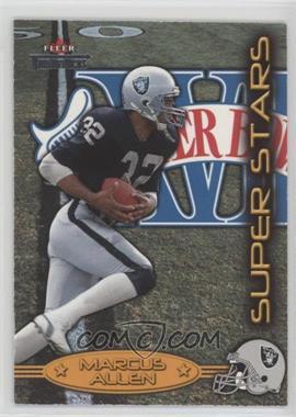 2002 Fleer Throwbacks - Super Stars #3 SS - Marcus Allen