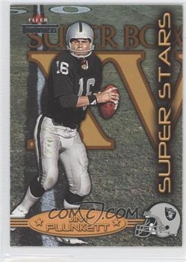 2002 Fleer Throwbacks - Super Stars #4 SS - Jim Plunkett