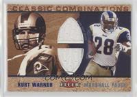 Kurt Warner, Marshall Faulk /100