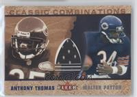 Anthony Thomas (Jersey), Walter Payton