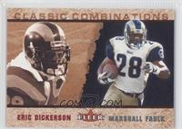 Marshall Faulk, Eric Dickerson