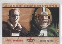 Brett Favre, Paul Hornung