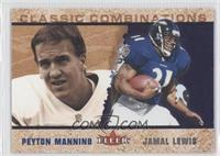 Peyton Manning, Jamal Lewis /1000