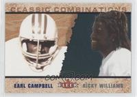 Ricky Williams, Earl Campbell #/1,000