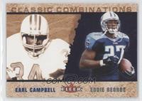 Eddie George, Earl Campbell #/2,000