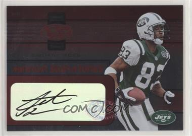 2002 Leaf Certified - Mirror Signatures - Red #MS-31 - Santana Moss /50