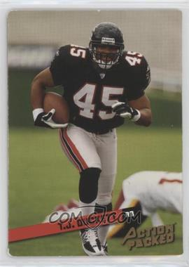 2002 Leaf Rookies & Stars - Action Packed - Bronze #3 - T.J. Duckett /1850