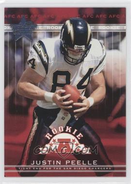 2002 Leaf Rookies & Stars - [Base] #184 - Justin Peelle