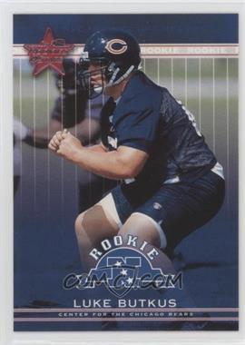 2002 Leaf Rookies & Stars - [Base] #260 - Luke Butkus