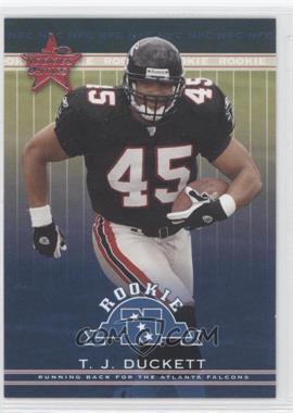 2002 Leaf Rookies & Stars - [Base] #286 - T.J. Duckett