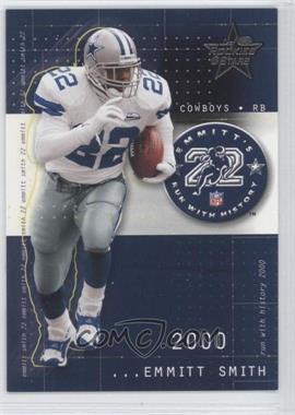 2002 Leaf Rookies & Stars - Emmitt's Run With History #RH-11 - Emmitt Smith /1203