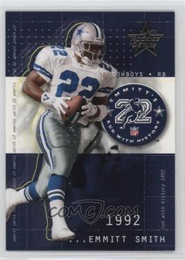 2002 Leaf Rookies & Stars - Emmitt's Run With History #RH-3 - Emmitt Smith /1713