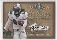 Ricky Williams #/2,000