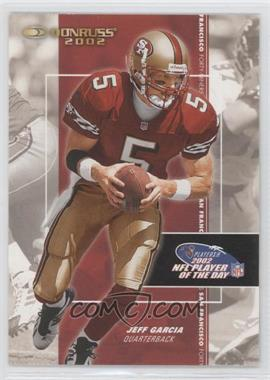 2002 NFL Player of the Day - [Base] #NFLPOD2 - Jeff Garcia